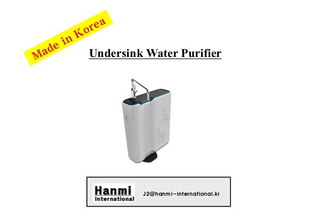 Undersink Water Purifier J2@hanmi-international.kr