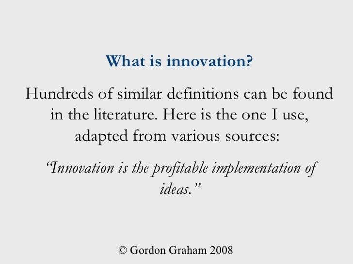 Understand Innovation in 5 Minutes Slide 3