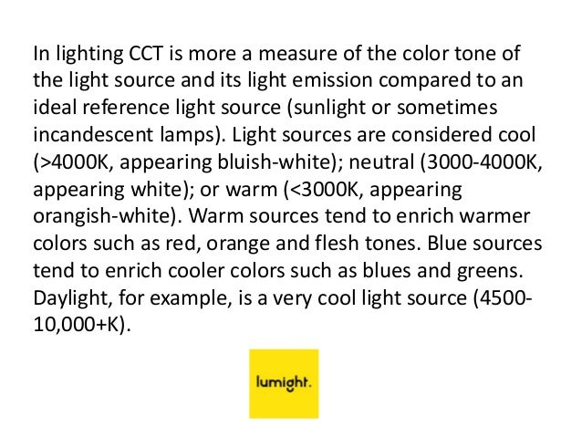 5. In lighting ...  sc 1 st  SlideShare & Lumight LED Lighting | Understand Color CCT u0026 CRI azcodes.com