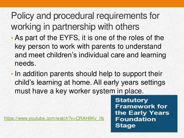 unit m2c work in partnership in M2c: work in partnership in health and social care or children and young people's partnership working unit aim be able to work in partnership with others.