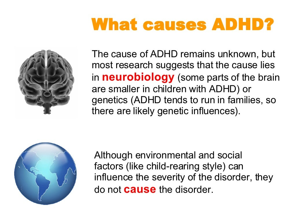 adhd and what causes the childhood Scientists are also investigating the causes of adhd at the neurotransmitter level of brain adhd causes continued margaret childhood adhd overview.