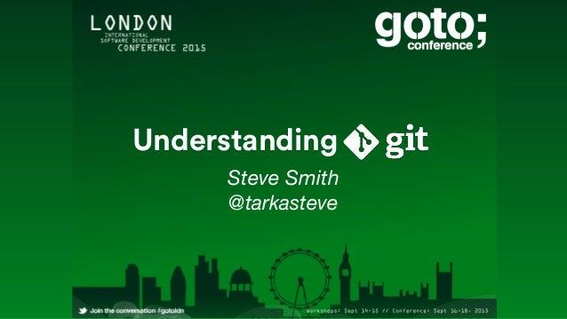 Steve Smith @tarkasteve Understanding
