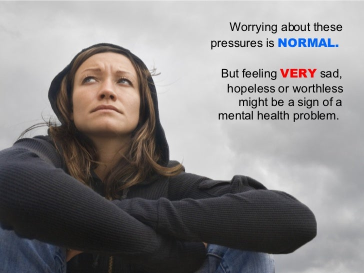 understanding mental health problems Certificate in awareness of mental health problems unit 1: understanding mental health unit 2: understanding stress unit 3: understanding anxiety.