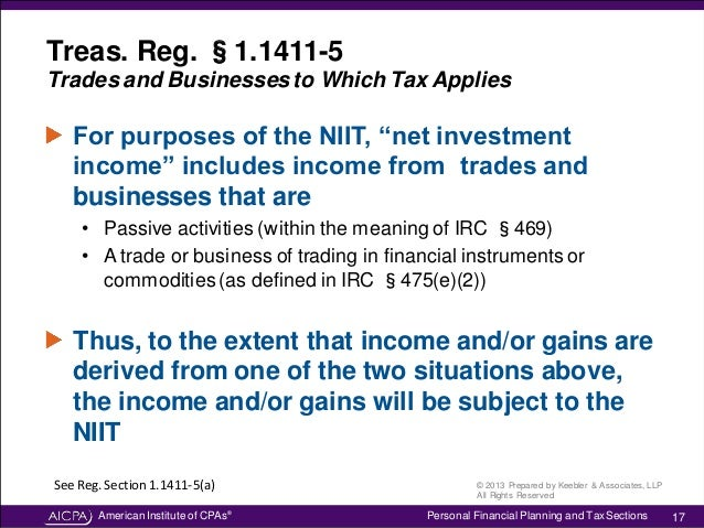 Understanding The Net Investment Income Tax