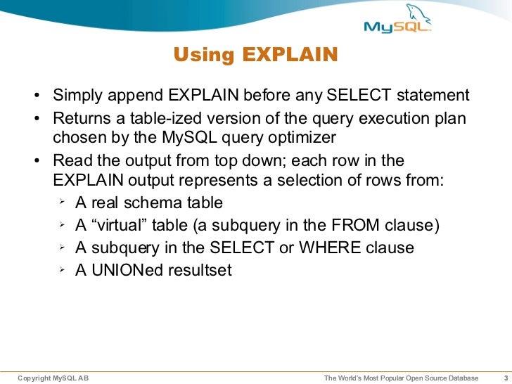 Understanding query-execution806 Slide 3