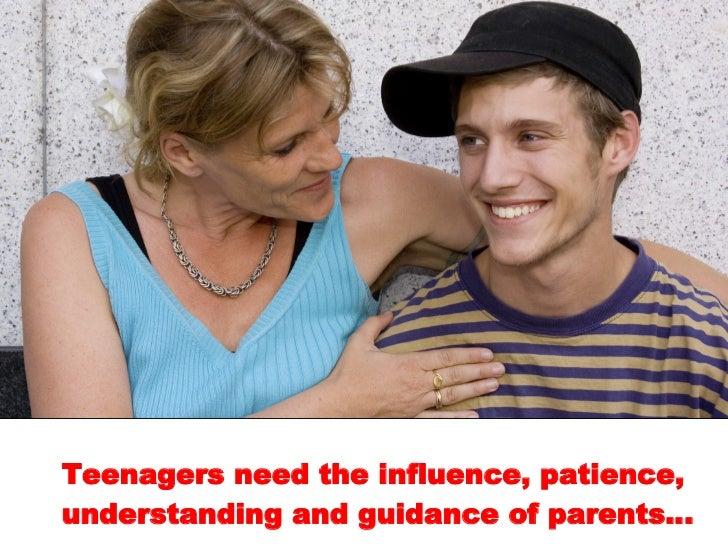 Teen seeks guidance from mature man