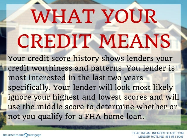 The Lowest Credit Score To Qualify For A Home Loan