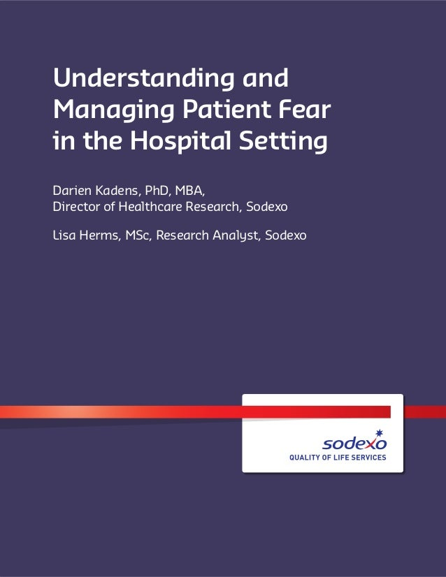 Understanding The Different Types Of Flour: Understanding And Managing Patient Fear In The Hospital