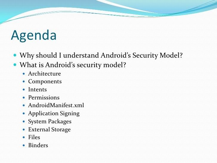 Understanding android security model Slide 2