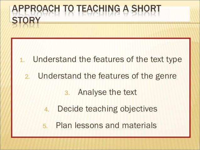 Understanding and teaching short stories handout version