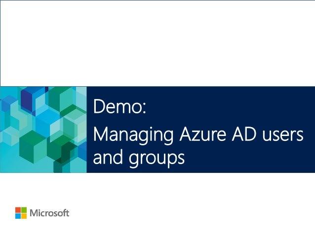 Understanding Azure AD
