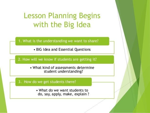 Understanding big ideas as basis for art curriculum Slide 3