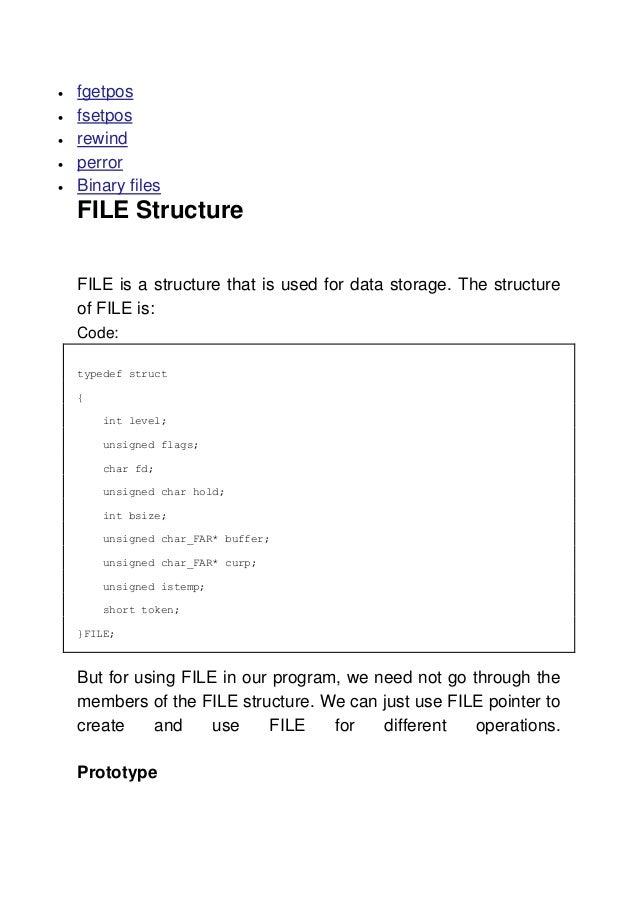 DATA FILE STRUCTURE USING C EPUB