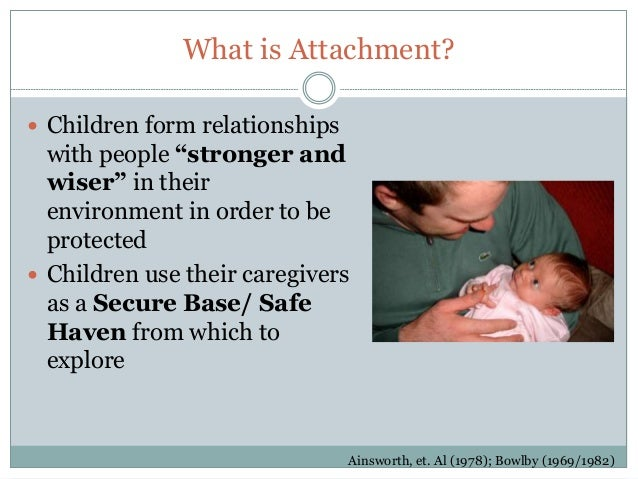 Infant-parent attachment: Definition, types, antecedents, measurement and outcome