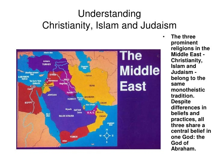 christianity over islam Why believe in christianity over all other religions by matt slick  why should anyone trust in christianity over islam, buddhism, mormonism, or anything else it.