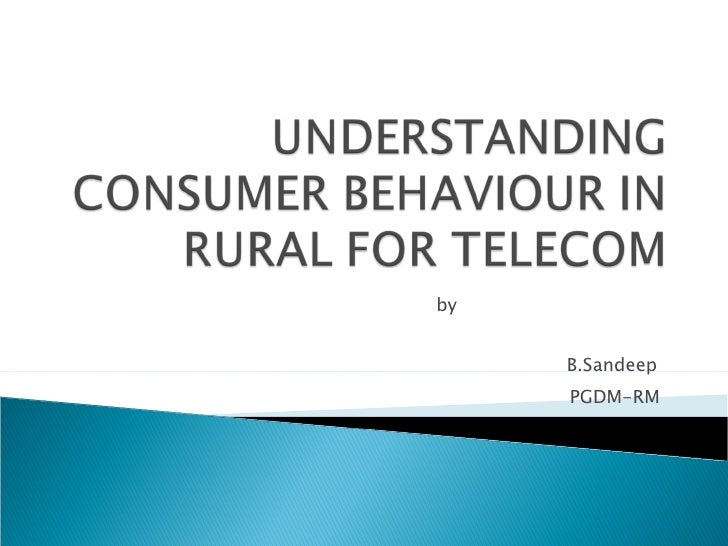 Understanding rural consumer behaviour tapping the