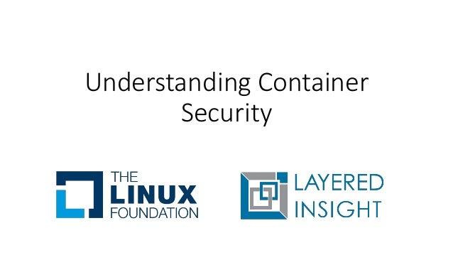 Understanding Container Security