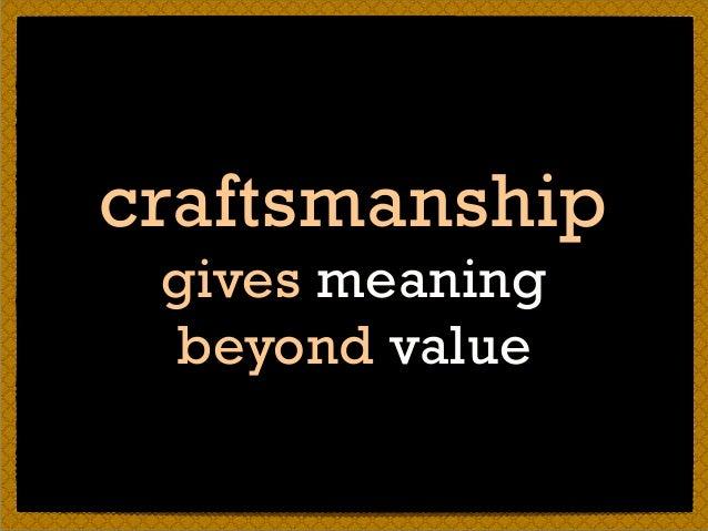 trade vs craft