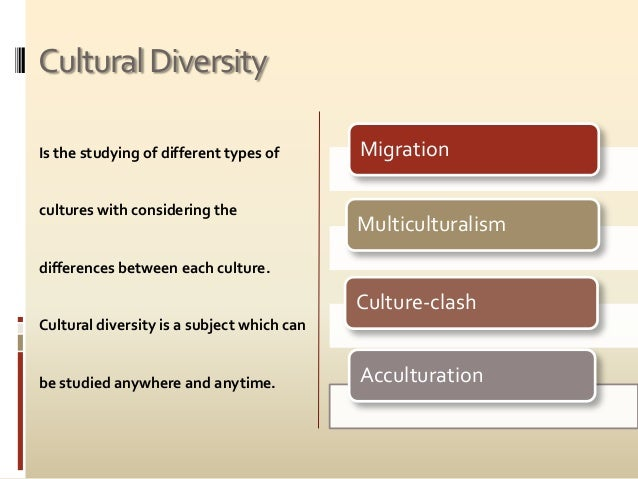 what is the importance of cultural diversity