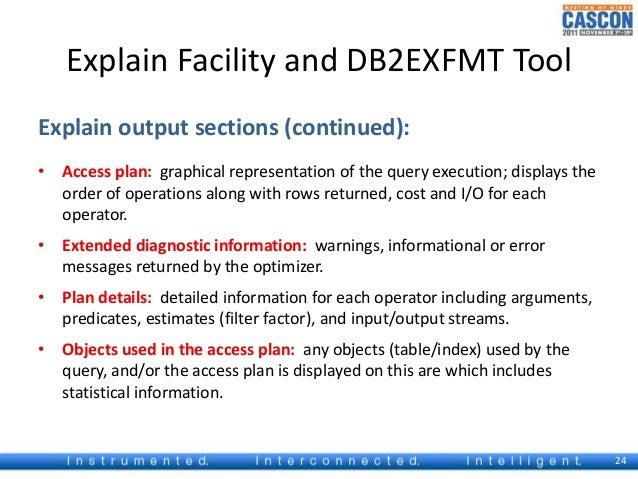 db2exfmt tool