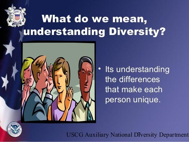 Understanding diversity[edit]