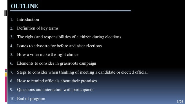 civic responsibility definition