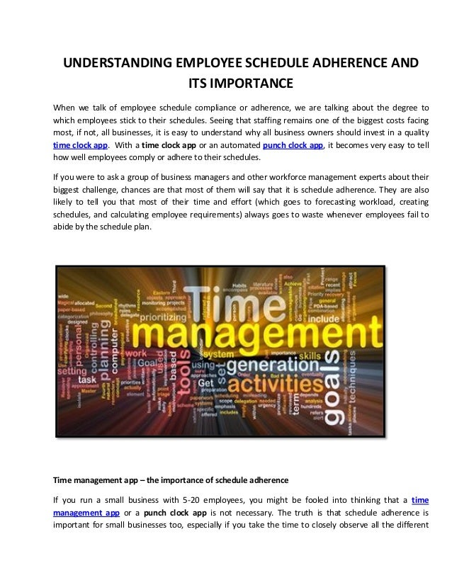 Understanding Employee Schedule Adherence and Its