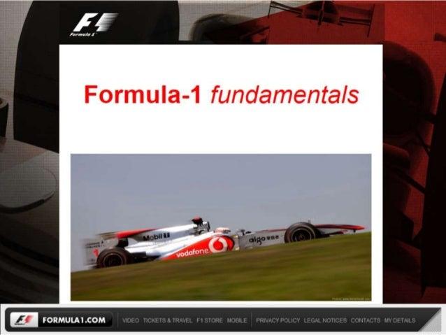 Understanding F1 fundamentals