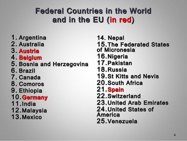 understanding federalism diffenent modelsdifferent
