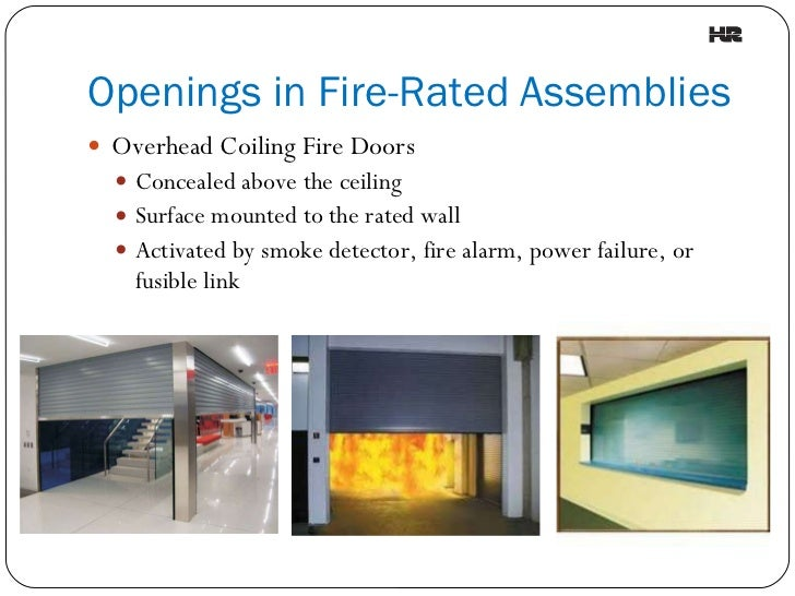 Understanding fire rated assemblies for Fire rated insulation