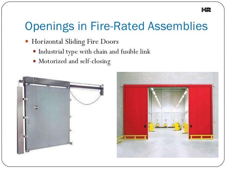 Understanding Fire Rated Assemblies
