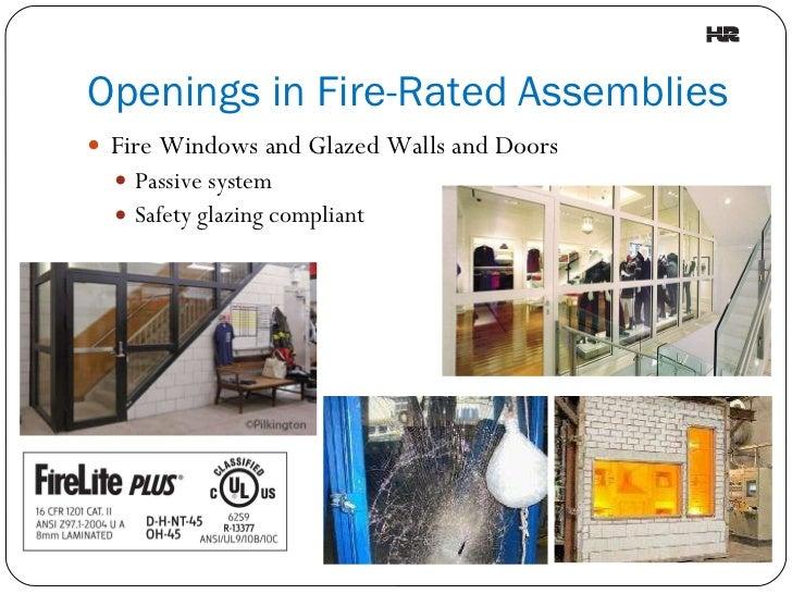 Understanding Fire-Rated Assemblies