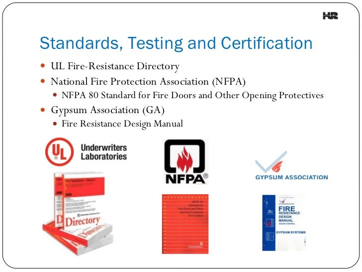 Fire Resistance Rated Assembly Identification : Understanding fire rated assemblies