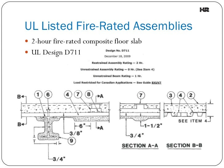 2 Hour Fire Wall Assembly : Hour rated ceiling assembly energywarden