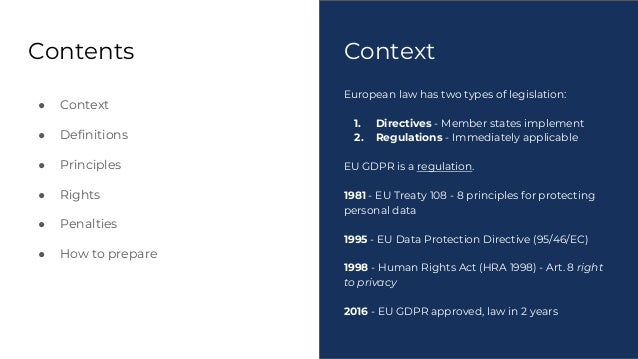 Understanding The EUs New General Data Protection Regulation GDPR