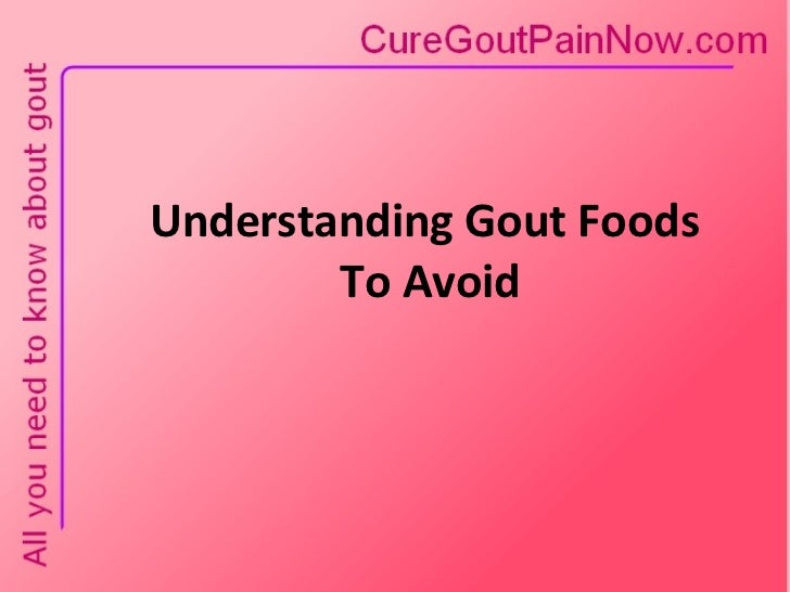 how to avoid getting gout