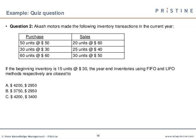 Understanding Income Statement (CFA Level 1)