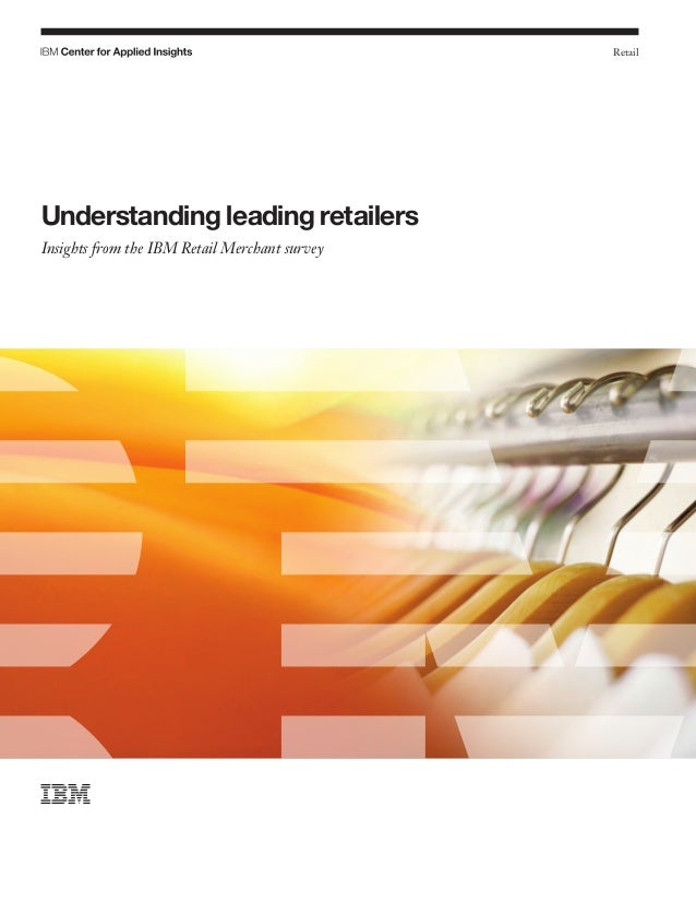 Understanding leading retailers