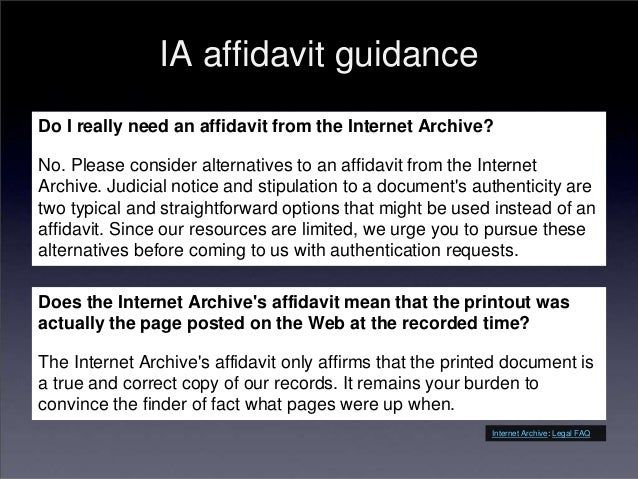 Understanding Legal Use Cases for Web Archives