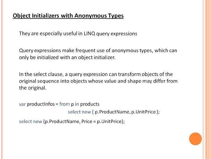 Understanding linq