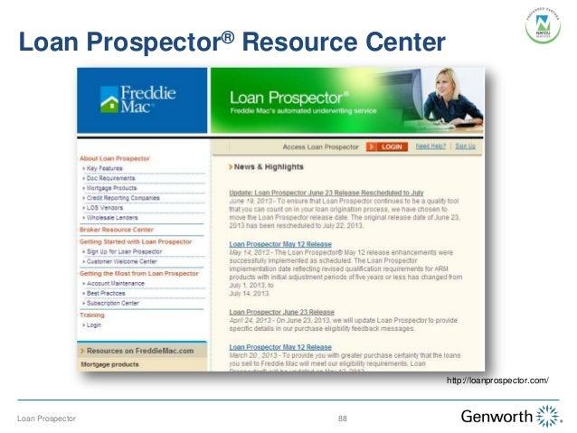 freddie mac universal loan application