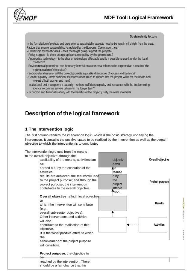 Understanding logical framework_methodology___by_dr_malik_khalid_mehmood_ph_d Slide 3