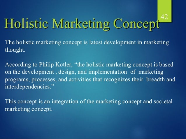holistic marketing kotler