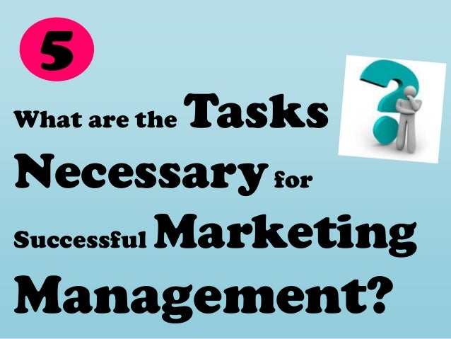 understanding marketing management It is the art of identifying and understanding customer needs and  (macmillan) basic principles of marketing and management paper-v lesson: marketing.