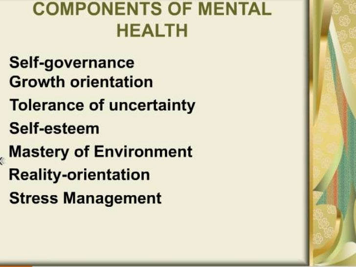understanding mental ill health Defining 'mental illness' in mental health policy  these definitions are essential to understanding all of mental health policy  the joint commission on mental illness and health was .