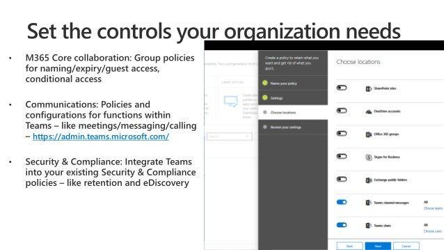Understanding Microsoft Teams Security & Compliance features