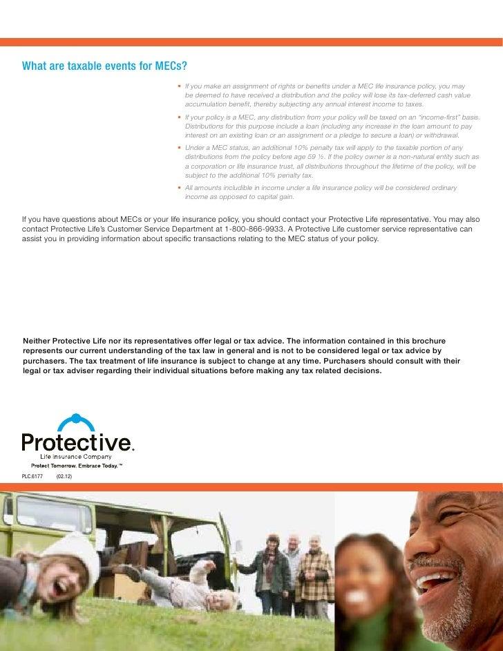 Understanding Modified Endowment Contracts (MEC)