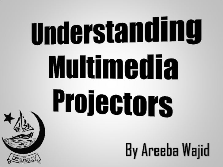 """Definition    """"A multimedia projector is acompact, high resolution, full-colorprojector capable of projecting text,  image..."""