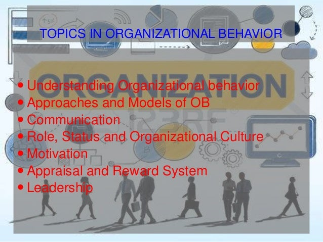 organization behavior understanding and benefiting from Nonprofit organizations, and human resources management  nonprofit organizations, and human resources  managing a nonprofit organization that.