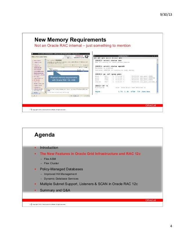 Understanding Oracle RAC 12c Internals OOW13 CON8806